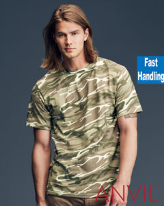 TBTS Anvil Camouflage T-Shirt