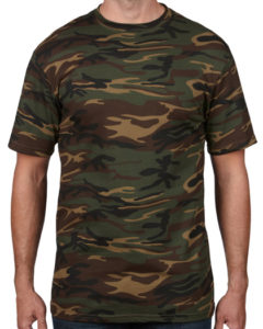 TBTS Anvil Camouflage T-Shirt Jungle