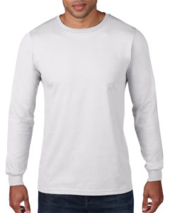 TBTS Anvil Long Sleeve T-Shirt White