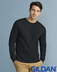 Gildan Cotton Men Long Sleeve T Shirt