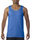 Gildan Cotton Men Singlet Royal