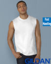 Gildan Cotton Men Muscle T Shirt