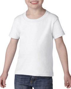 Gildan Cotton Toddler T Shirt White