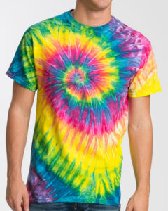 Gildan Cotton UniSex Tie Dye T Shirt Saturn
