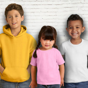 Children Blank T Shirts