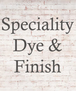 Speciality Dye and Finish T Shirts and Apparel