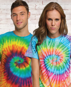 Tie Dye T Shirts and Apparel