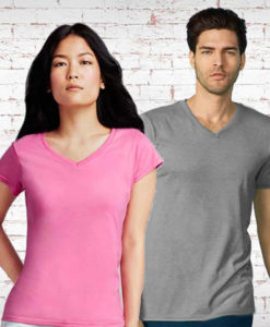 V Neck T Shirts and Apparel