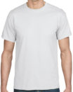 Gildan Dye Sublimation Unisex T Shirt White Front