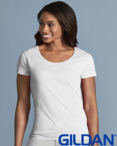 Gildan Ladies Scoop Neck T Shirt